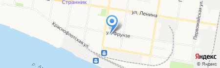 Интур-Благовещенск на карте Благовещенска