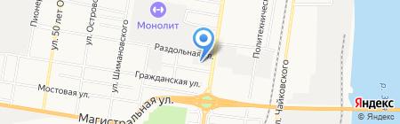 АвтоСтандарт на карте Благовещенска