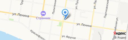 Поликлиника Благовещенская больница на карте Благовещенска