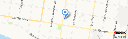 Арбат на карте Благовещенска