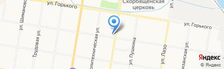 Городская Служба Бытового Сервиса на карте Благовещенска