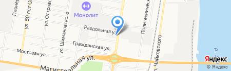 Партнер Амур на карте Благовещенска