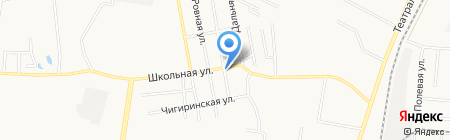 Октябрь на карте Благовещенска