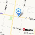 Русская изба на карте Благовещенска