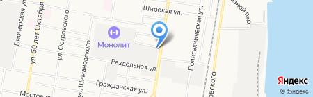 Отдел полиции №2 на карте Благовещенска