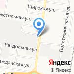 Авто Циркон на карте Благовещенска