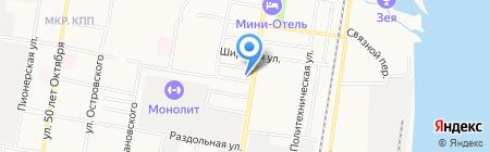 Домашний очаг на карте Благовещенска