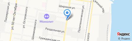 Курочка по-домашнему на карте Благовещенска