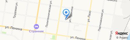 Амурский пар на карте Благовещенска