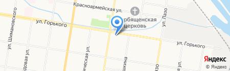 Вестремстрой на карте Благовещенска