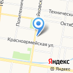 Благовещенский финансово-экономический колледж на карте Благовещенска