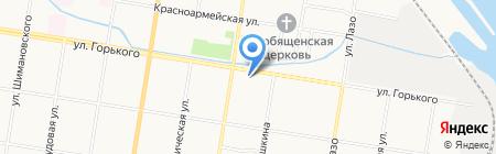 Квартирный ряд на карте Благовещенска