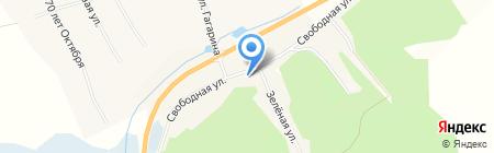 Продовольственный магазин на карте Белогорья