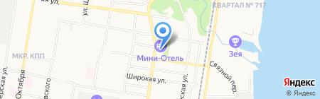 На Строй! магазин отделочных материалов на карте Благовещенска