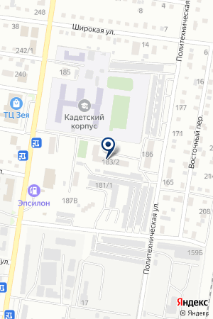 TNT Express на карте Благовещенска