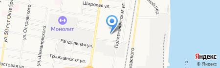 Магазин автозапчастей для ГАЗ на карте Благовещенска