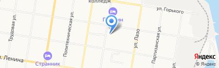 Меридиан+ на карте Благовещенска