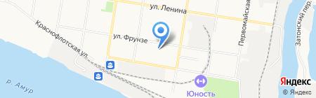 Детский сад №59 на карте Благовещенска