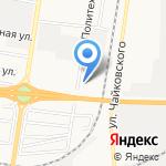 Столица-Динамо на карте Благовещенска