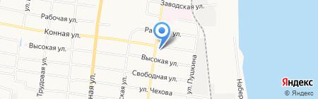 Алтан Бууза на карте Благовещенска