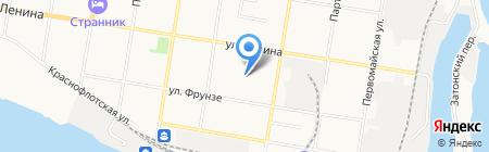 Квадро Экстрим на карте Благовещенска
