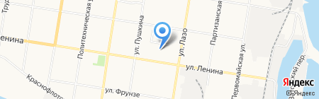 Детский сад №1 на карте Благовещенска