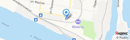 АвтоСпецТех на карте Благовещенска