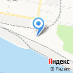 Торговый порт Благовещенск на карте Благовещенска