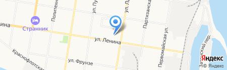 Кенгу.RU на карте Благовещенска