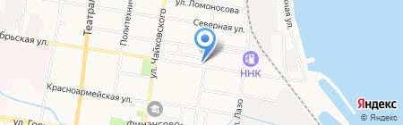 Автодром на карте Благовещенска