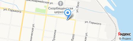 АШ2О на карте Благовещенска