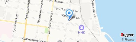 Авторемонтная мастерская на карте Благовещенска