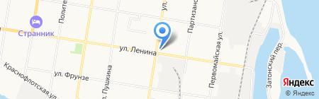 Служба аттестации рабочих мест на карте Благовещенска