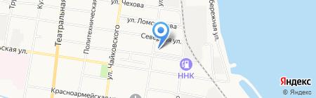Экотон на карте Благовещенска
