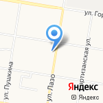 Почтовое отделение №2 на карте Благовещенска