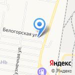 Центр авторазбора на карте Благовещенска