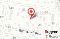 Схема проезда до компании Peony-Shop в Подольске
