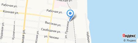 АвтоЛидер на карте Благовещенска