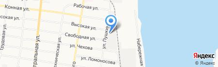Техносфера на карте Благовещенска