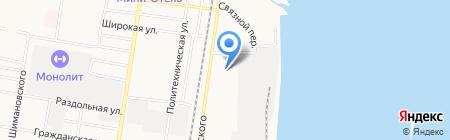 Детский сад №40 на карте Благовещенска