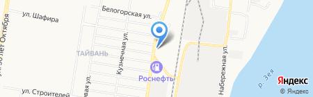 АвтоСпецТехника на карте Благовещенска