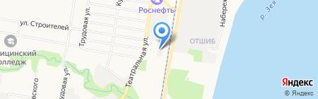 Авто-шоп на карте Благовещенска