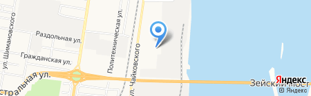 Автодизель Сервис на карте Благовещенска