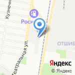 GT-сервис на карте Благовещенска