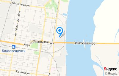 Местоположение на карте пункта техосмотра по адресу г Благовещенск, ул Чайковского, д 175А