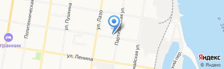 Лубриком-Восток на карте Благовещенска