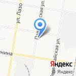 Городская управляющая компания-ГУК 1 на карте Благовещенска