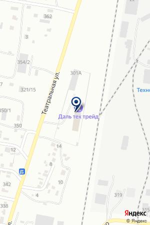 Тройка ДВ на карте Благовещенска