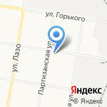 Амурская авиабаза на карте Благовещенска