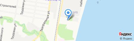 Благовещенский дом-интернат на карте Благовещенска